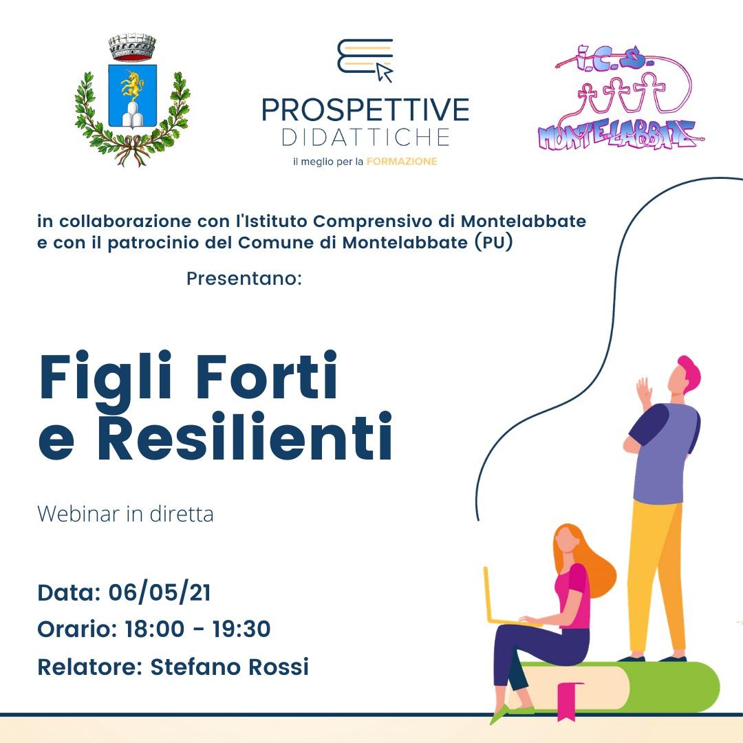 """Invito al webinar """"Figli forti e resilienti"""" - ..."""