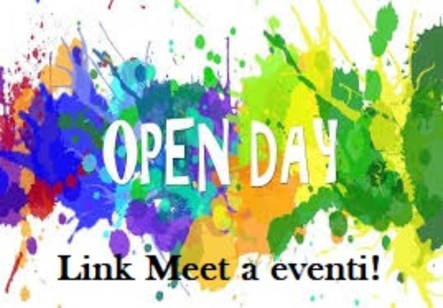 OPEN DAY - LINK A EVENTI DELLE NOSTRE SCUOLE!